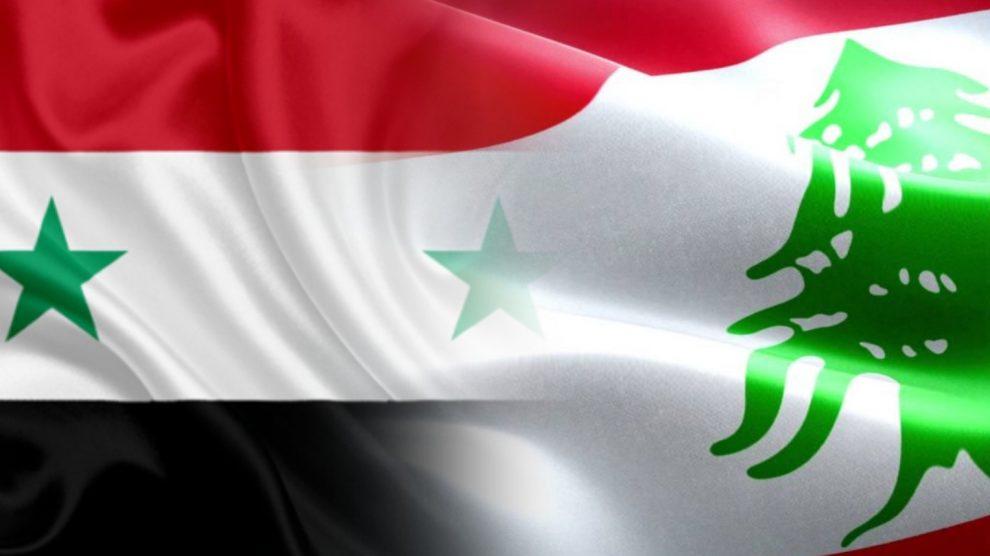 علم سورية و لبنان